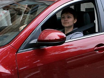 Женщина на дороге: встреча с инспектором