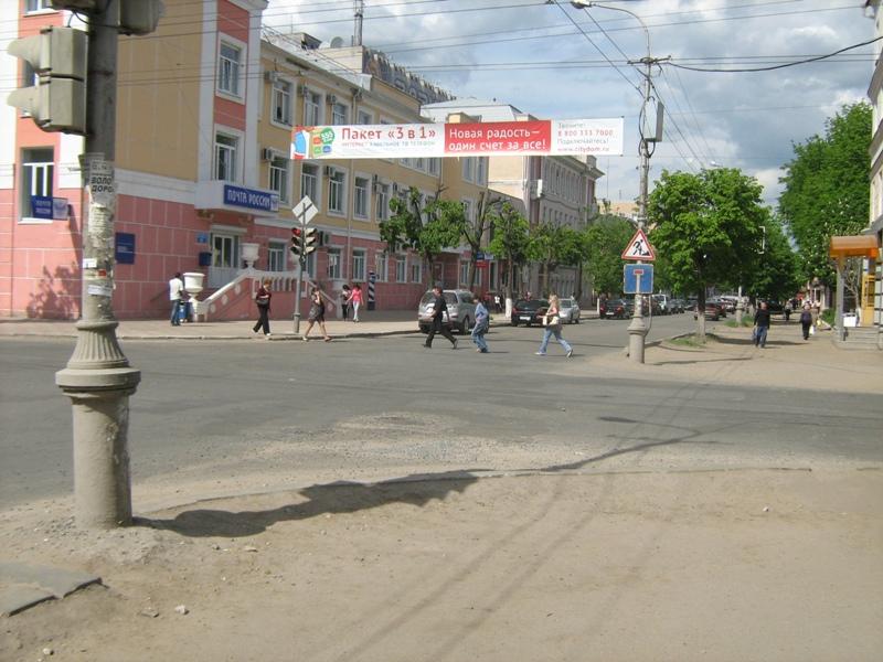 В Йошкар-Оле для ремонта теплосетей закрыта для движения транспорта улица Советская.